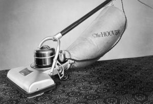 Early Hoover vacuum cleaners were hard to sell
